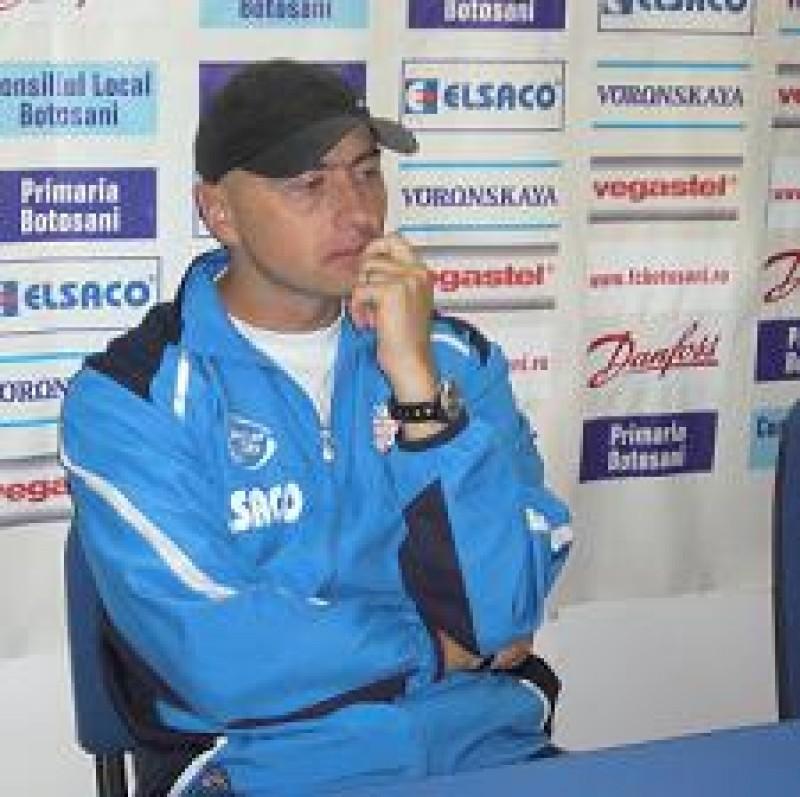 Declaraţii: Leo Grozavu, antrenor principal FC Botoşani: