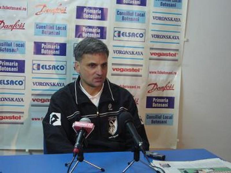 Declaraţii: Mihail Marian, antrenor principal Sportul Sportul Studenţesc: