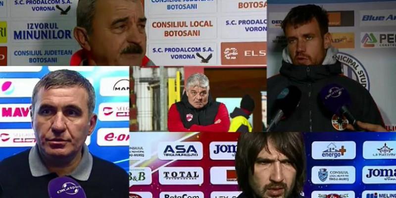 """Declaraţiile etapei in Liga 1: """"Trebuie să mai facem 22. Cu 48, 24, -6, cu 18 suntem în play-off"""" - VIDEO"""