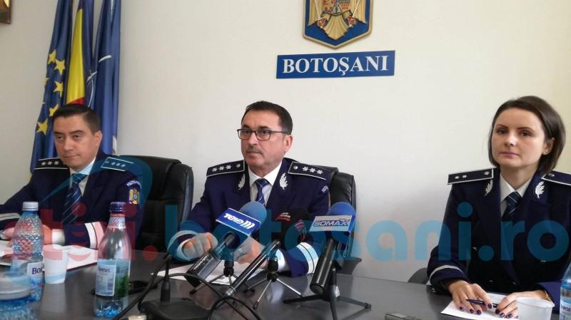 Zeci de angajaţi ai IPJ Botoşani au părăsit sistemul. Unde se înregistrează cel mai mare deficit de personal!