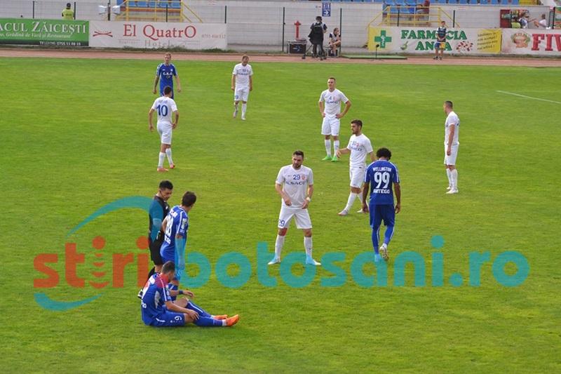 Degeaba! Pandurii Tg. Jiu- FC Botoşani 2- 1