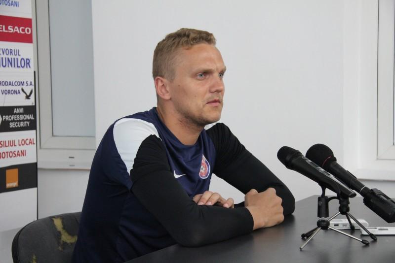 """Deivydas Matulevicius: """"Cei de la Voluntari au declarat ca vin cu incredere la Botosani, dar noi stim ce avem de facut"""""""