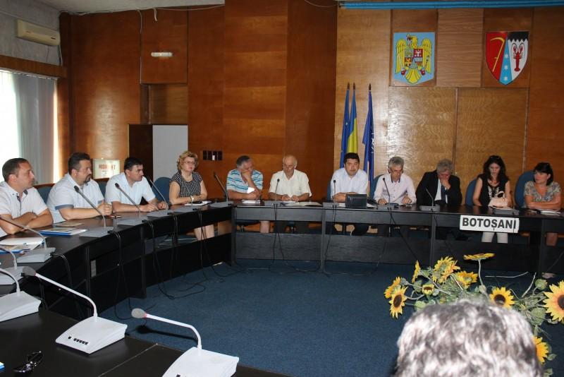 Delegație din Republica Moldova, în vizită de studiu la Consiliul Județean Botoșani
