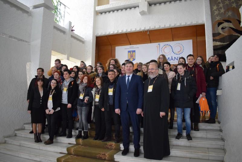 Delegaţie Erasmus+ din patru ţări, la Palatul Administrativ din Botoșani! FOTO