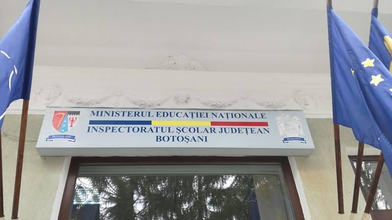 Demisii de la conducerea mai multor unități de învățământ, din Botoșani!