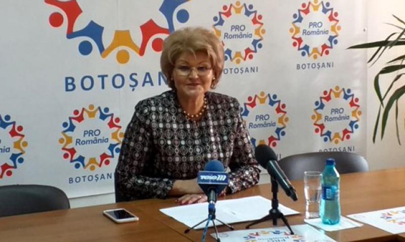 Deputat Mihaela Huncă: Pro România Botoșani nu este colacul de salvare a nici unui partid! Vom merge singuri la alegerile locale în fața alegătorilor!