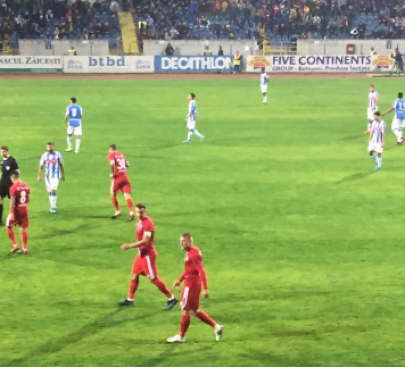 Derby cu o singură echipă pe teren! FC Botoșani a învins Poli Iași cu 3-0!