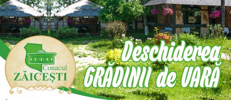 Deschiderea Grădinii de Vară la Conac