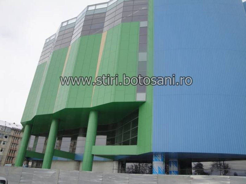 Deschiderea Mall-ului din Botoșani, amânată pentru martie 2013!