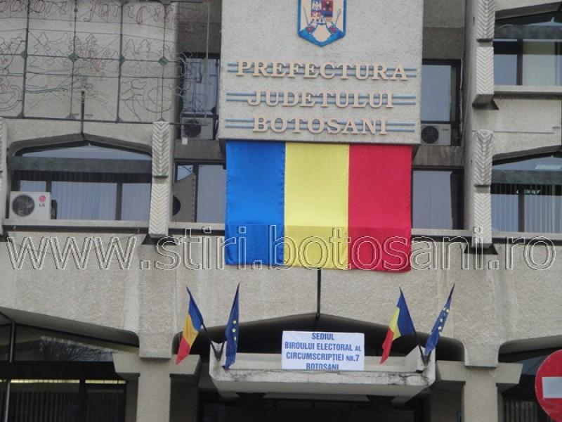 Despre fonduri europene pentru drumuri, reţele de apă şi irigaţii, la Prefectura Botoșani!