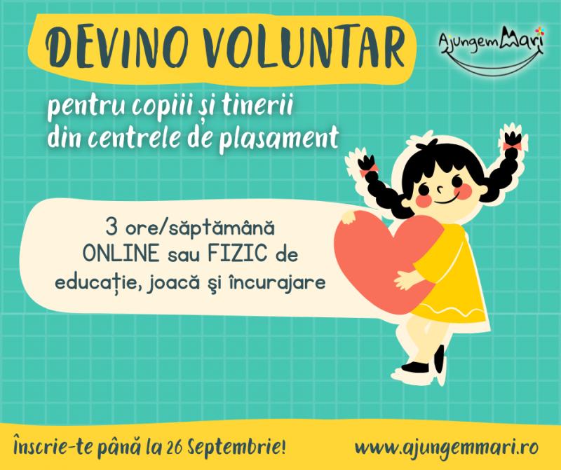 Devino voluntar pentru copiii din centrele de plasament din Botoșani. De ce aleg unii botoșăneni să facă voluntariat