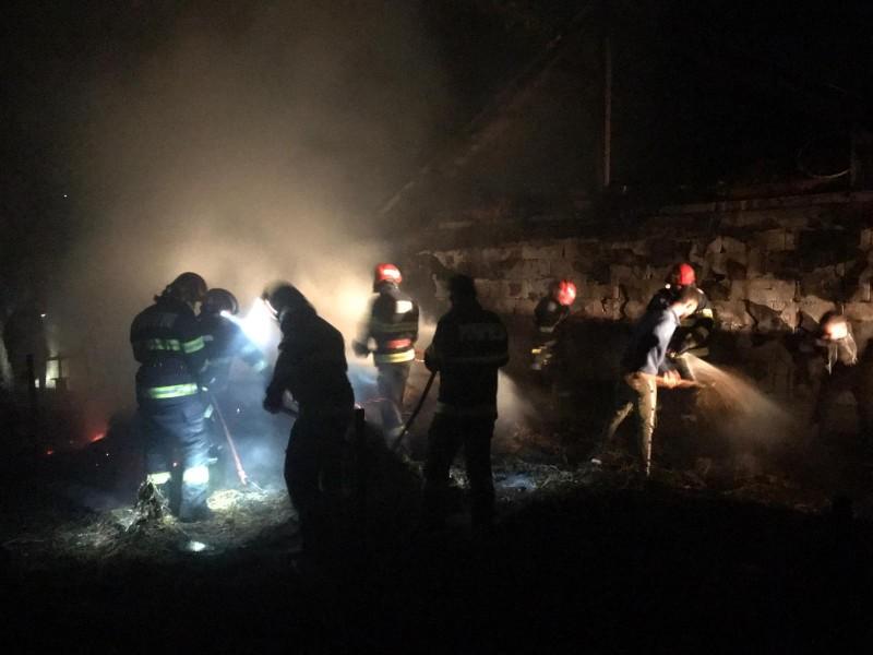 Dezastru evitat de pompierii dorohoieni