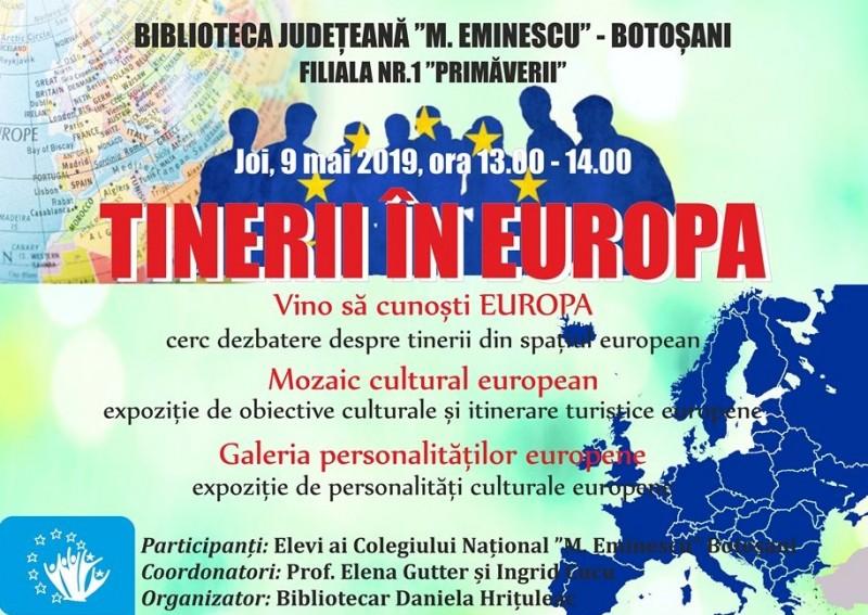 Dezbateri despre viitorul UE, organizate la Biblioteca Județeană Botoșani