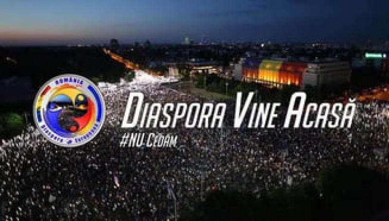Diaspora vine acasă de 1 Decembrie!