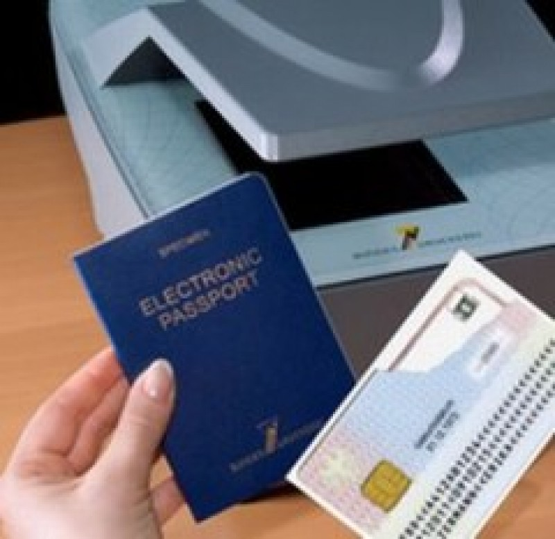 Din 2009, vom calatori cu pasaport electronic