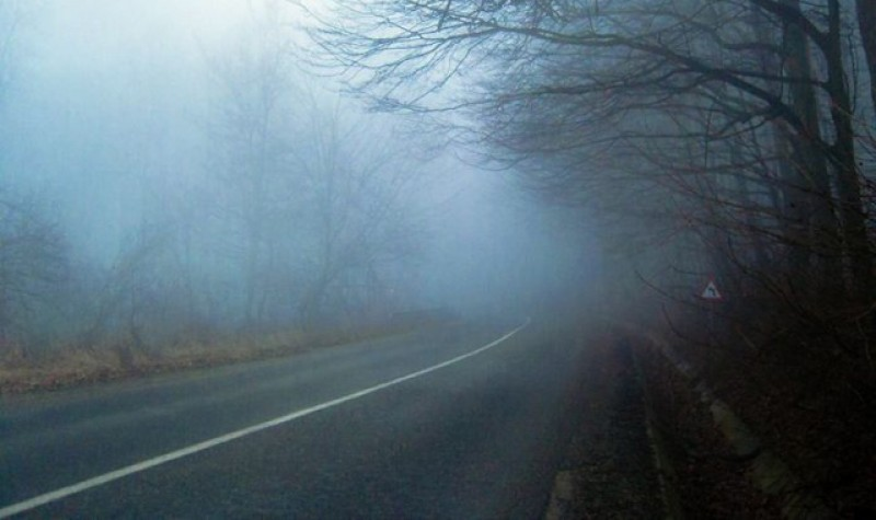 Din nou ceață în această dimineață la Botoșani