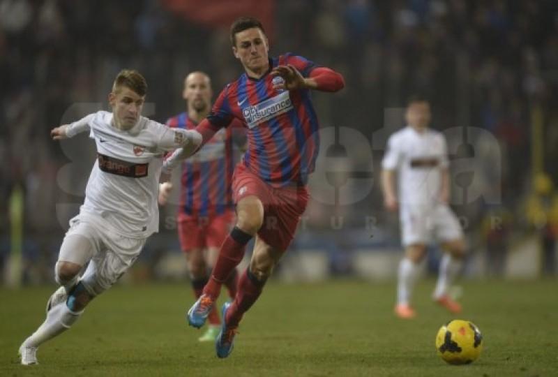 Dinamo a fost la un pas de un succes surpriză în Ghencea, însă Keşeru a salvat-o pe Steaua, 1-1