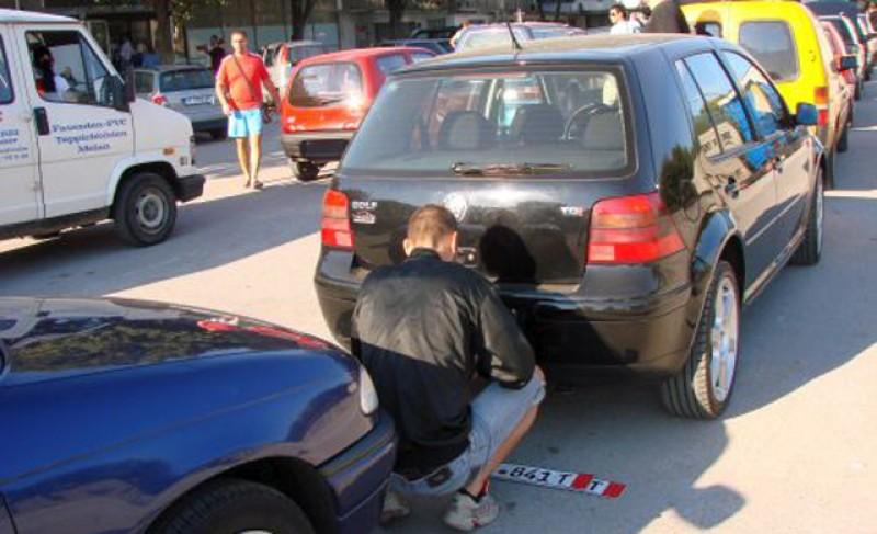 Direct la Penitenciarul Botoşani după ce a condus un autovehicul cu număr fals de înmatriculare