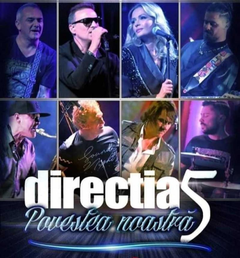 """Direcția 5 va concerta în Amfiteatrul """"Cornișei"""""""