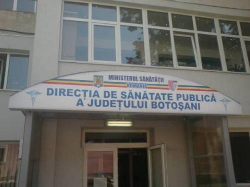 Director nou la Direcția de Sănătate Publică Botoșani