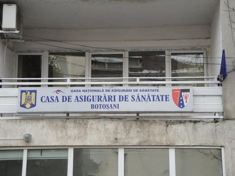 Directorul Casei de Asigurări de Sănătate din Botoșani a fost demis