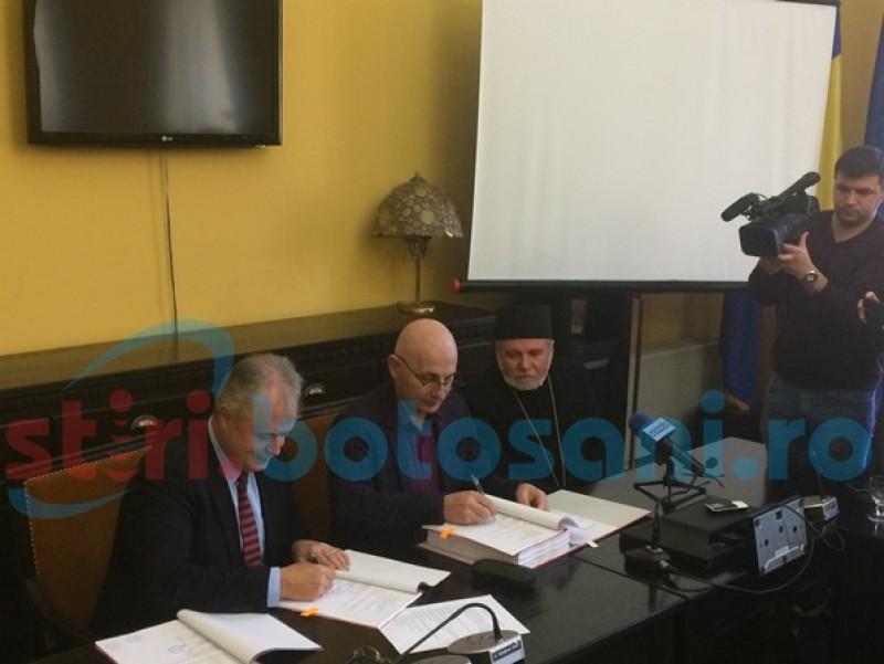 Discurs în lacrimi al preotului care s-a zbătut 18 ani să reabiliteze Biserica-simbol al municipiului Botoşani!