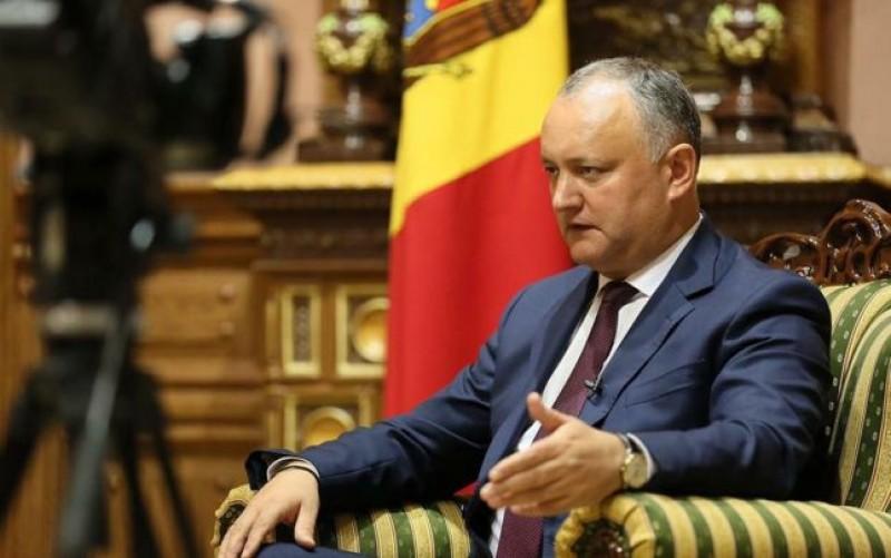 Dodon cere României să renunţe la ideea Unirii: Noi nu avem ambiţii teritoriale peste Prut, chiar dacă sunteţi pe pământuri moldoveneşti