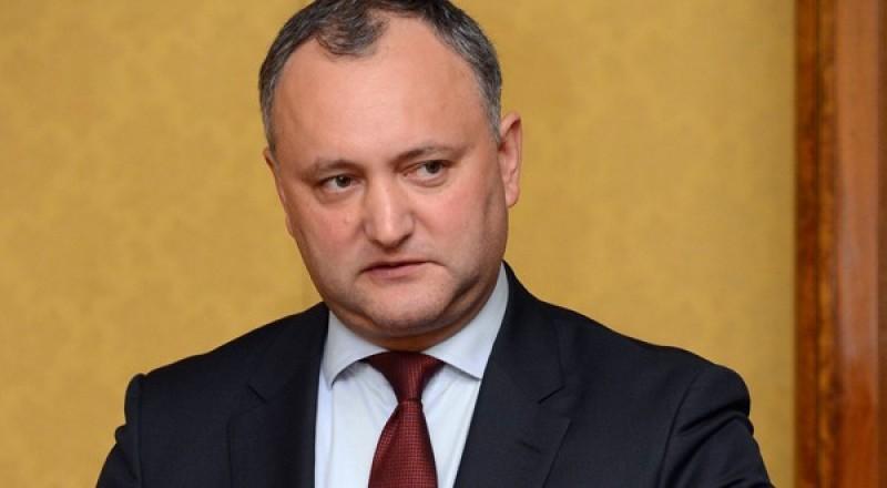 Dodon: Există riscul ca duşmanul numărul unu al Republicii Moldova să fie România!
