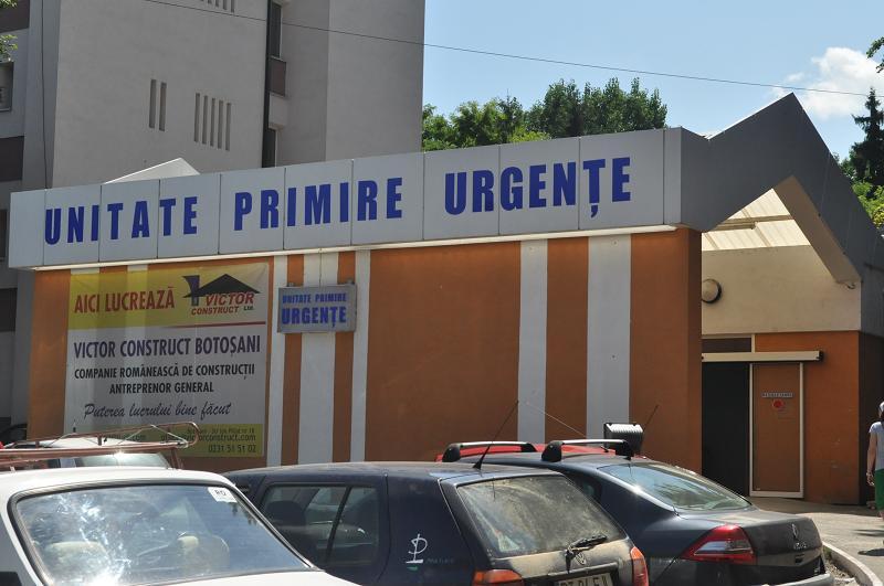 Doi copii la spital, după un grav accident rutier petrecut în Botoșani