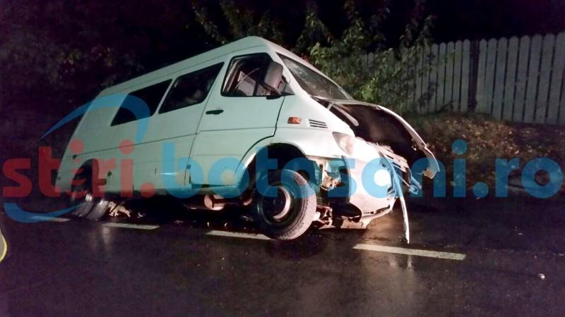 Doi polițiști de frontieră au ajuns la spital, în urma unui accident rutier!
