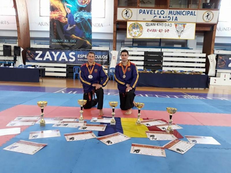 Doi sportivi de la Clubul Sportiv DAO Botosani, pe podiumul Campionatului European de Qwan ki do seniori! FOTO
