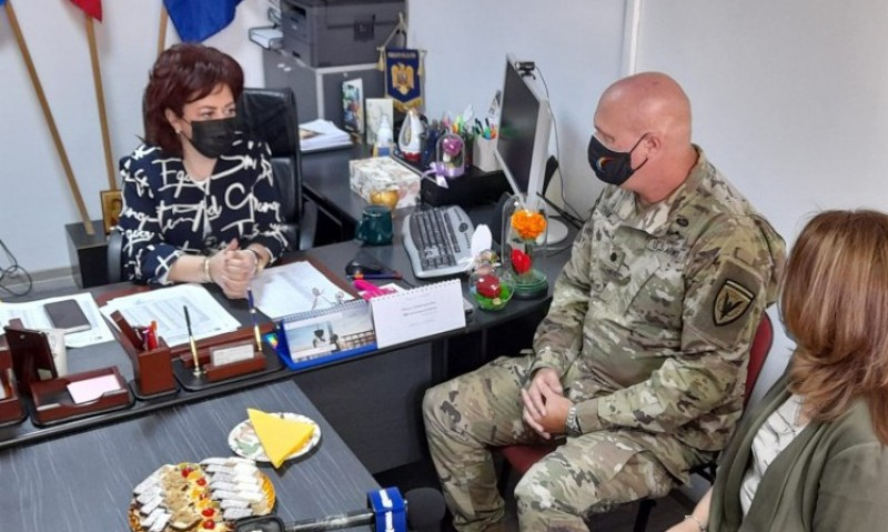 Donație din partea Armatei SUA pentru școli din județul Botoșani (video)