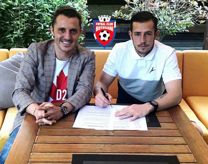 """Dorit de Astra si Craiova, Eduard Pap este fericit ca a ales FC Botosani: """"Am facut alegerea potrivita"""""""