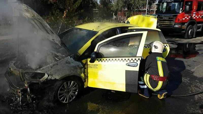 Dorohoian plasat sub control judiciar, după ce a incendiat un taxi în miez de noapte