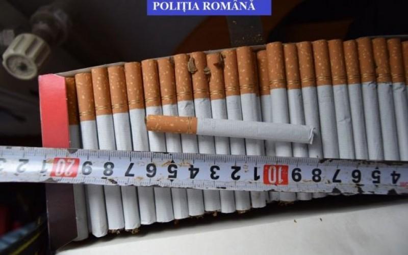 Dorohoian reţinut după ce a fost prins transportând 10.000 de pachete de ţigări de contrabandă