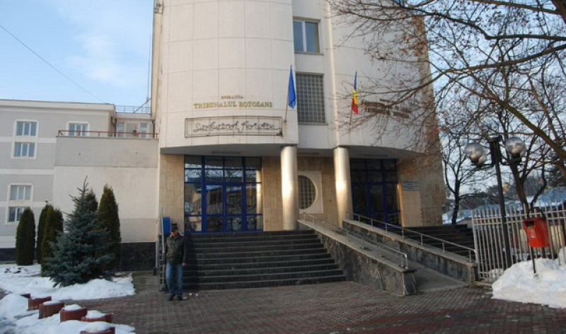 Dosarul lui Țurcanu pensionează un al treilea magistrat al Tribunalului din Botoșani