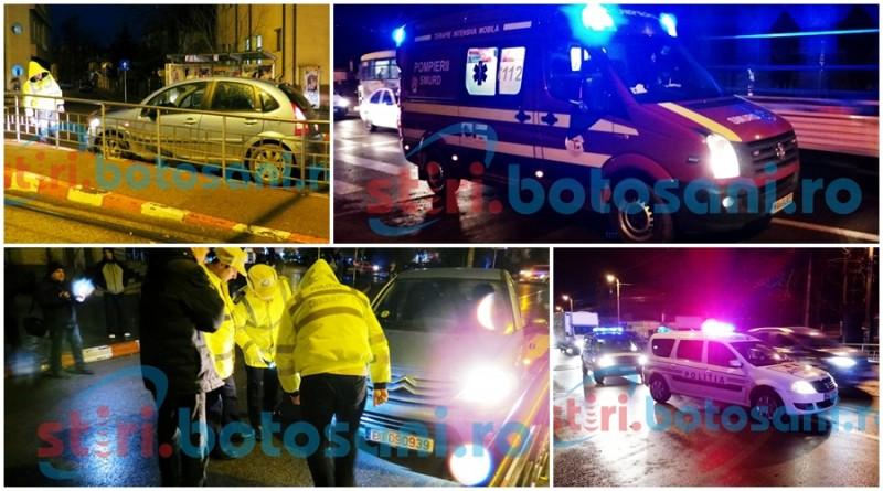 Două accidente rutiere, la doar câteva minute distanță unul de altul! Două femei au ajuns la spital! GALERIE FOTO