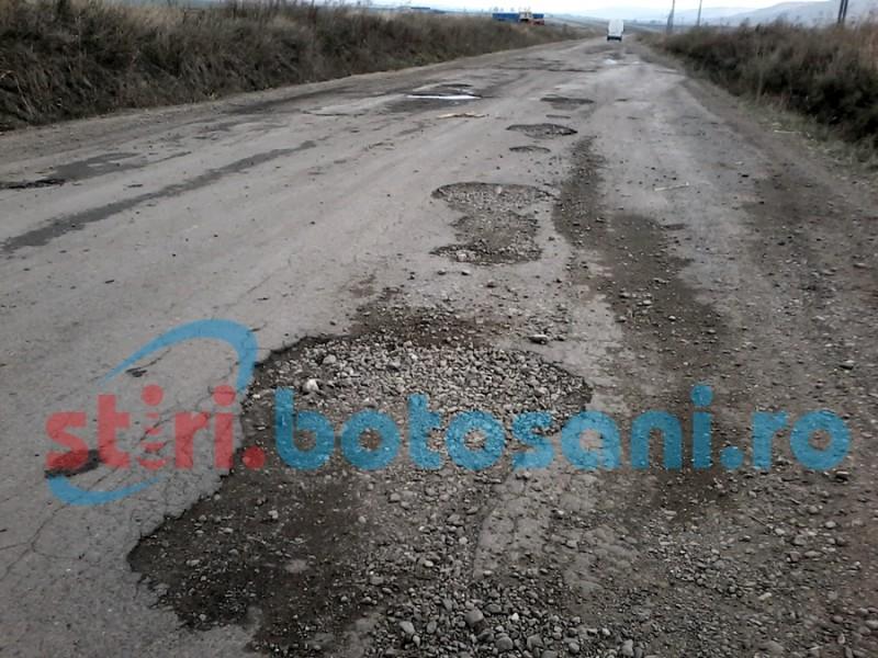 Două drumuri naționale din județul Botoșani, reabilitate în primăvară