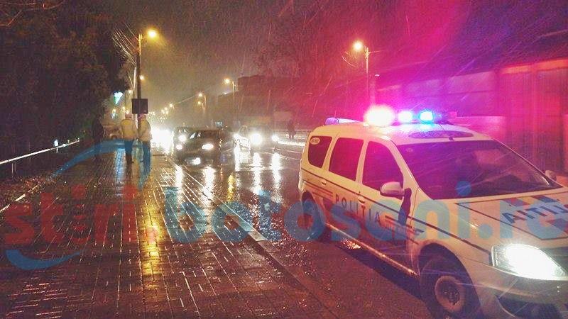 Două persoane lovite de o mașină pe trecerea de pietoni, pe Calea Națională! FOTO