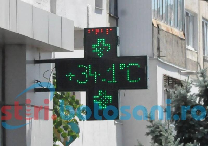 Două zile de foc pentru judeţul Botoşani! Estimări meteorologice şi sfaturi de la specialişti