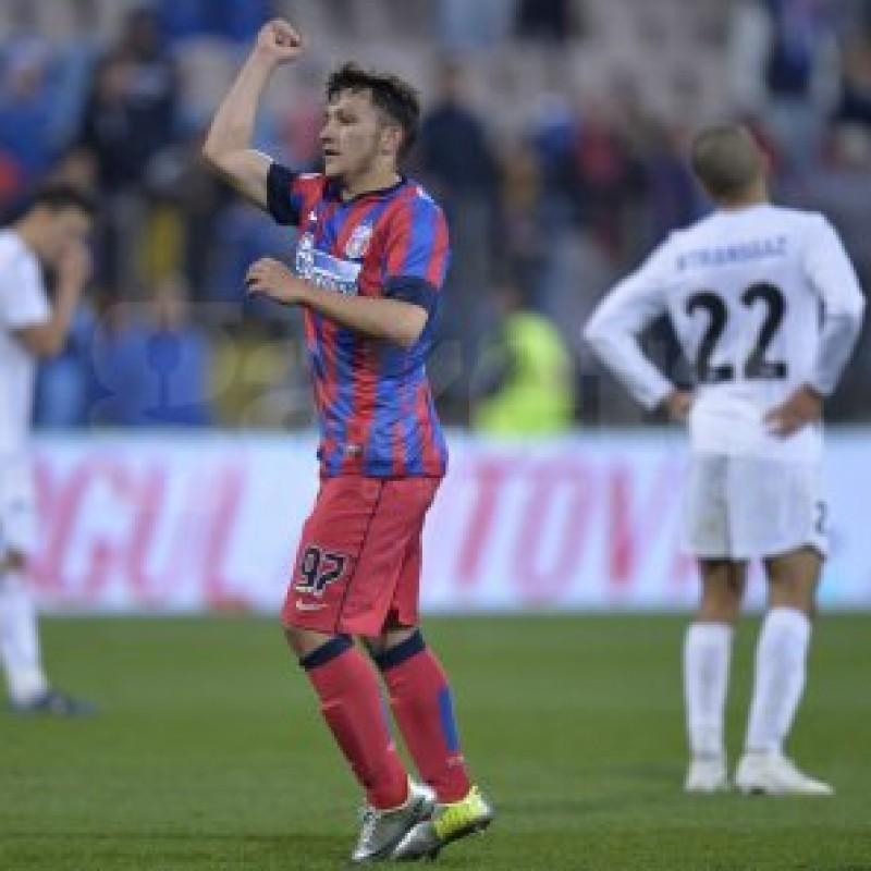DOVADA ca se poate! Steaua a mizat pe un pusti de 16 ani, care a debutat cu gol in Liga 1 - VIDEO