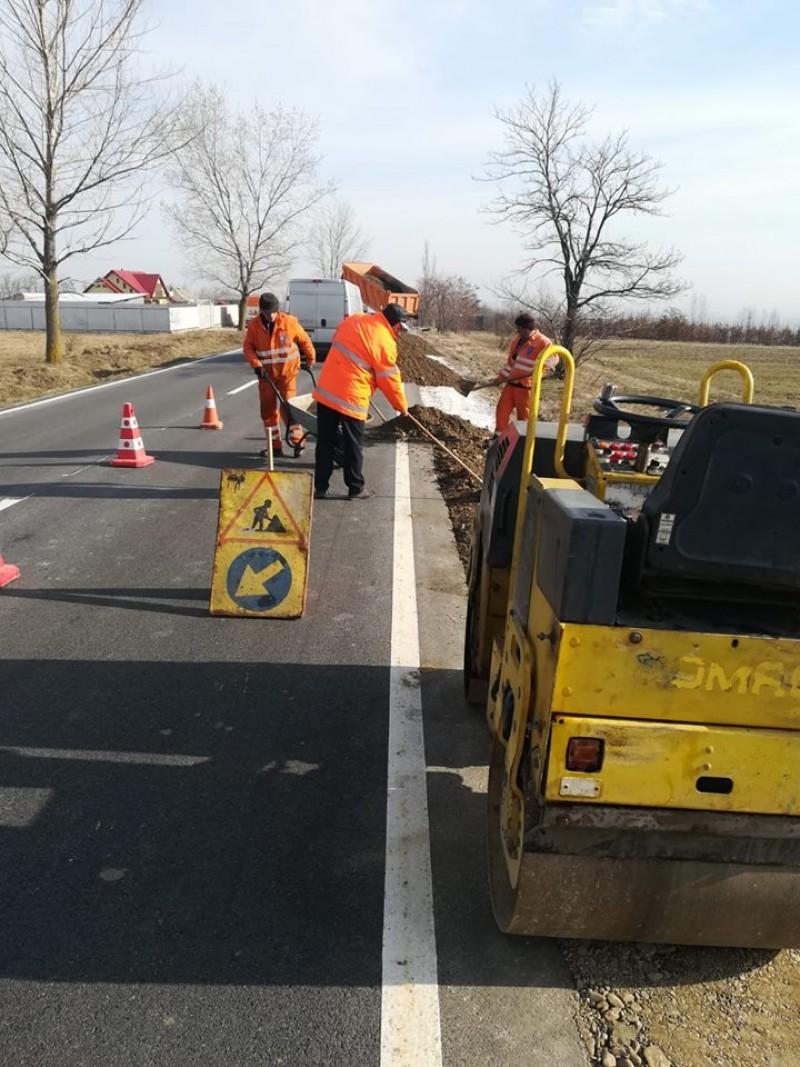DRDP anunță drumurile pe care se va lucra în această săptămână