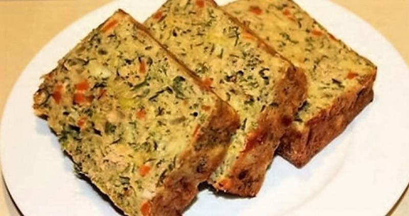 Drob din legume – Rețetă de post delicioasă
