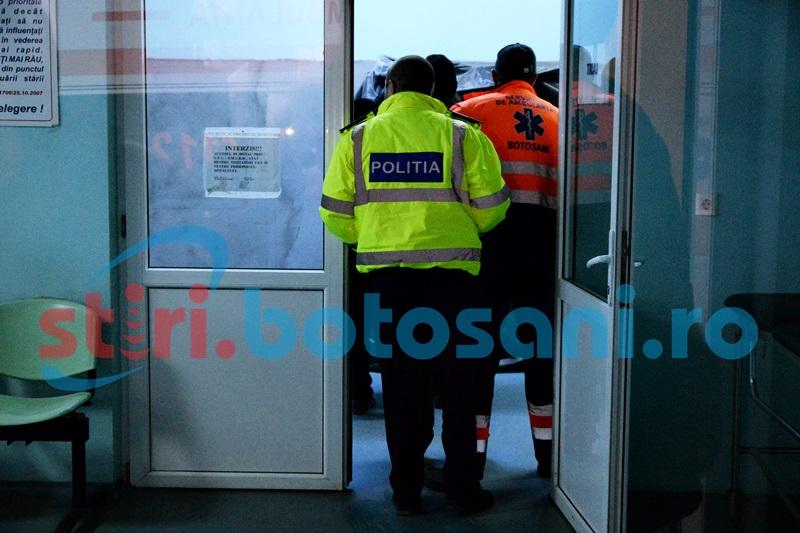 Terorizaţi de fiul care consumă droguri, au cerut ajutorul poliţiei şi al medicilor!