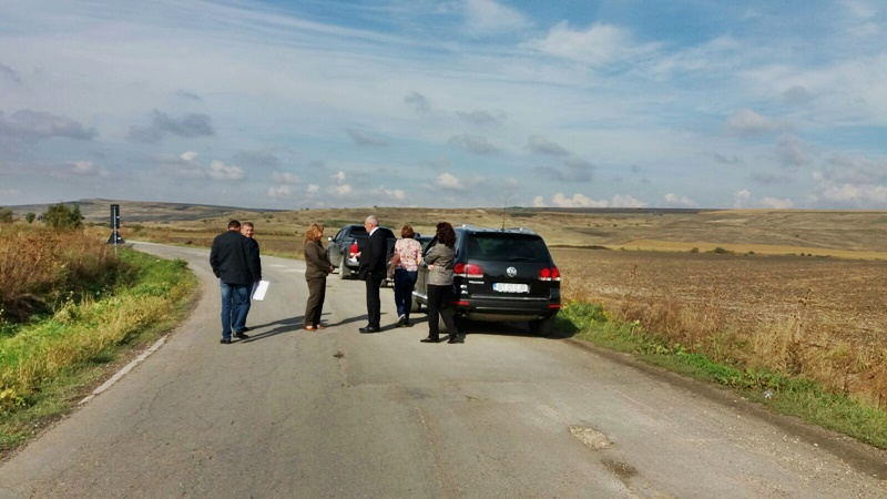Drumul strategic din județul Botoșani, inspectat de autorități - FOTO