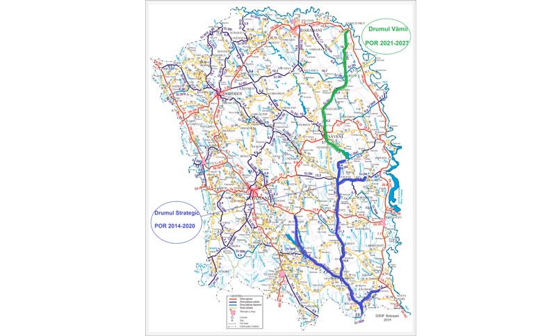 """Drumul """"Vămii"""" și modernizarea Memorialului Ipotești, proiecte pregătite pentru finanțare de Consiliul Județean Botoșani în parteneriat cu Agenția de Dezvoltare Regională Nord-Est"""