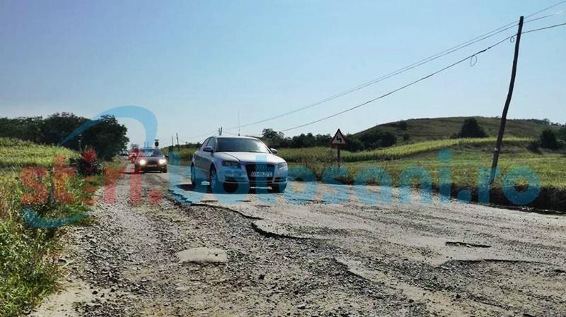 Demersuri la nivel central pentru alocarea de fonduri pentru drumurile județene din Botoșani
