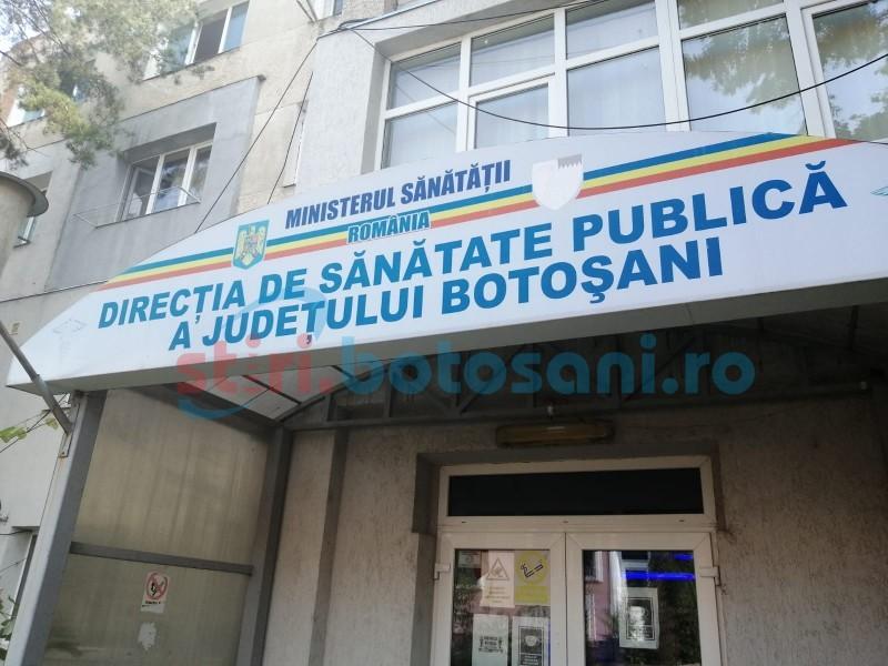 DSP Botoșani: Încă nouă cazuri de infectare cu Covid-19, din circa 250 de teste