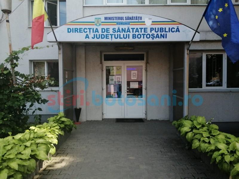 DSP: Trei cazuri noi de infectare cu COVID în Botoșani și încă un deces înregistrat, în ultimele 24 de ore