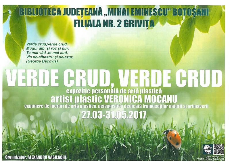 Dublă expoziţie a artistei plastice Veronica Mocanu